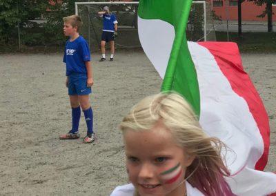 Italiagården. Italia 11 - Frankrike 7