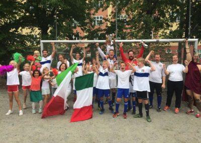 Italiagården. Italia vant 2018