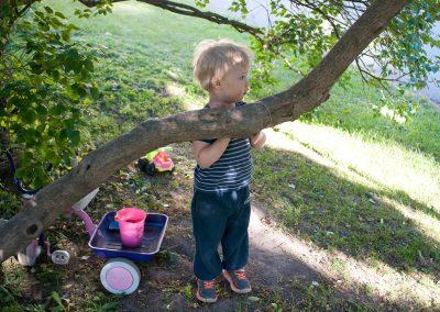 Barn leker, Foto: Thea Tønnessen