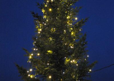 Julegrantenning 1. desember